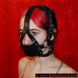 Muzzle-Gag Harness - Bild vergrößern