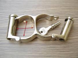 Doppel Zylinder Handschellen - Bild vergrößern