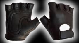 Leder Spanking Handschuh - fingerles gloves
