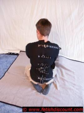 Segeltuch Zwangsjacke / canvas straitjacket - Bild vergrößern