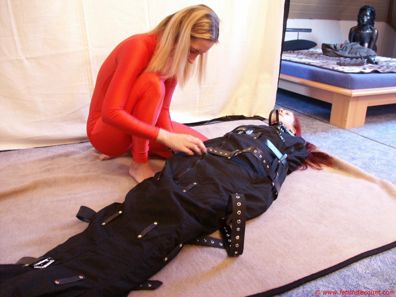 Body bag bondage