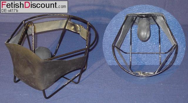 Knebel in Penisform / penis-shaped gag on headstrap