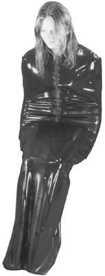 Latex Bodybag - Saunasack, heavy rubber saunabag