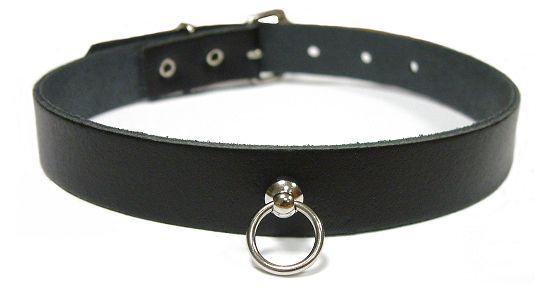 Halsband mit kleinem O-Ring 12mm